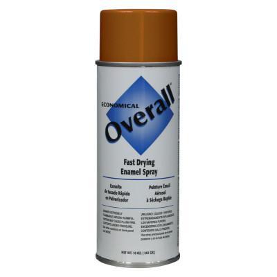 RUST-OLEUM Overall Economical Fast Drying Enamel Aerosols, 10 oz Aerosol Can, Gloss Orange
