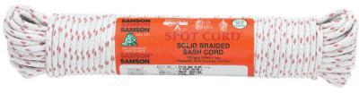 SAMSON ROPE #12-SPOT 3/8X1200 COTTON SASH CORD