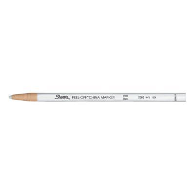SANFORD China Markers, Bullet Tip, White