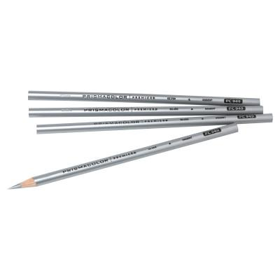 PRISMACOLOR Prismacolor Thick Lead Art Pencils, Metallic Silver