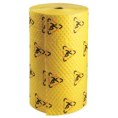SPC SPC High Visibility Safety/Chemical Absorbent Mat, Abs 63 gal, 30 in x 300 ft