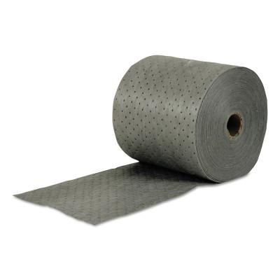 BRADY MRO Plus Double Perforated Absorbent Roll, Absorbs 24 gal, 15 in W x 150 ft L