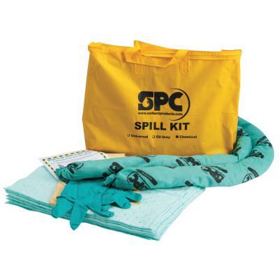 BRADY SPC SPC Economy Portable Spill Kit, Hazwik Chemical, 4 gal