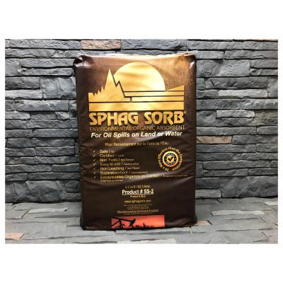 SPHAG SORB Industrial Absorbents, Absorbs 12 gal, 48 in x 4 in