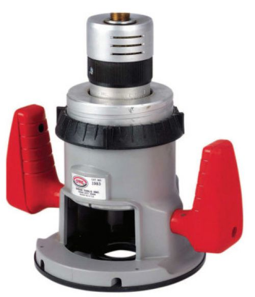 """SIOUX TOOLS 1.5-HP 1/2""""COLLET AIR ROUTER TWIST THROT"""