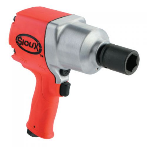 SIOUX TOOLS 3/4 in Air Impact Wrenches, 1050 ft lb, Through Hole Retainer