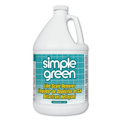 SIMPLE GREEN Lime Scale Remover, 1 gal, Jug, Unscented