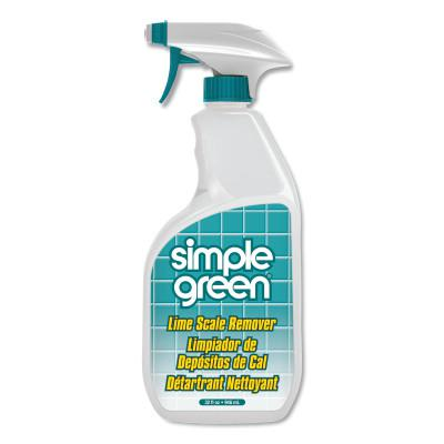 SIMPLE GREEN Lime Scale Remover, 32 oz Trigger-Spray Bottle, Wintergreen