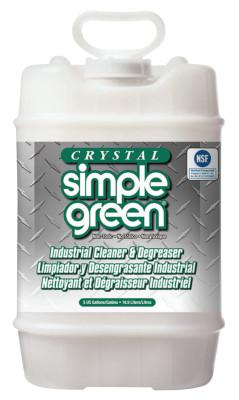 SIMPLE GREEN Crystal Simple Green, 5 gal, Pail, Unscented