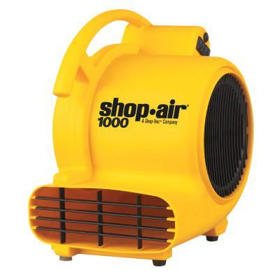 SHOP-VAC Air Movers, 3.5 A, 120 V, 10 ft Cord