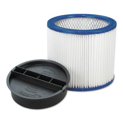 SHOP-VAC Clean Stream HEPA Filters, For Shop-Vac Wet Dry Vacuums 5-Gallon and Above