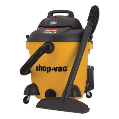 SHOP-VAC Peak HP Contractor Wet Dry Vacuums, 12 gal, 5.5 hp, Accessories Included
