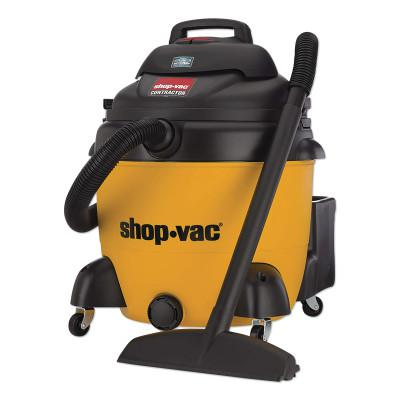 SHOP-VAC Peak HP Contractor Wet Dry Vacuums, 18 gal, 6.5 hp, Accessories Included