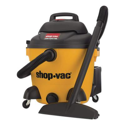 SHOP-VAC Peak HP Contractor Wet Dry Vacuums, 6 gal, 3.0 hp, Accessories Included