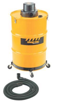 SHOP-VAC Heavy-Duty Wet/Dry Vacuums, 55 gal, 3 hp