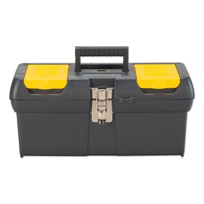 STANLEY Series 2000 Tool Box, 16 in x 7-1/2 in x 7 in, Black/Yello