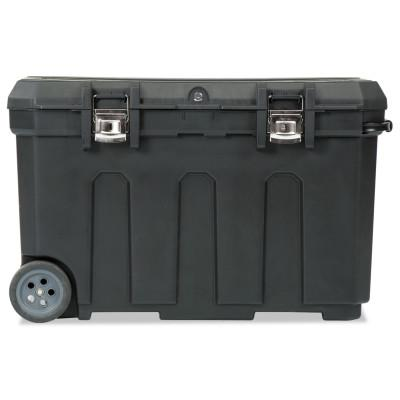 STANLEY Mobile Chest, 23 in x 37 in x 23 in, 50 gal, Black
