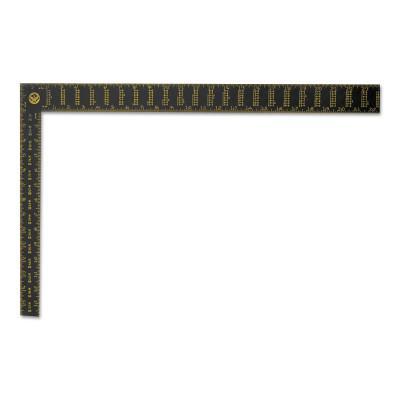 STANLEY Premium Aluminum Rafter Squares, 16 in x 24 in, Back-1/16; Face-1/16, Aluminum