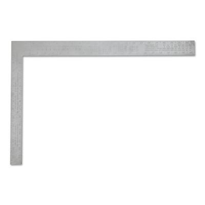 STANLEY Aluminum Carpenter Squares, 16 in x 24 in, 1/8 in @ 1 in, Aluminum