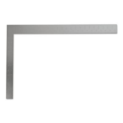 STANLEY Steel Carpenter's Squares, 16 in x 24 in, Face-1/8 in; Back-1/8 in, Steel