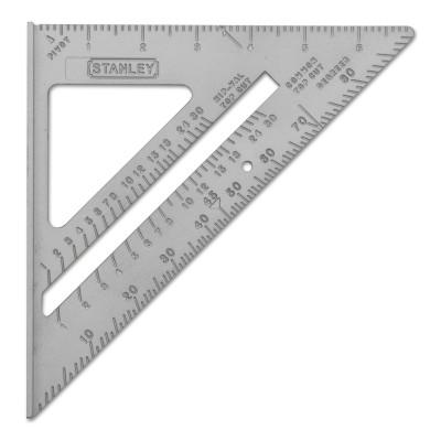 STANLEY Quick Square Layout Tools, 10 1/8 Blade Length, Aluminum