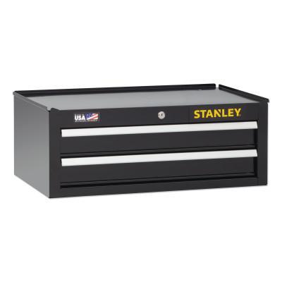 STANLEY Stanley 300 Series Top Tool Chest, 26 in, 5-Drawer, Black