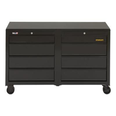 STANLEY 100 Series, 53 in, 8-Drawer Mobile Workbench