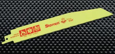 L.S. STARRETT King-Cut Fire, Rescue and Demolition Recip Blades, 12 in x 3/4 in, 10/14 TPI