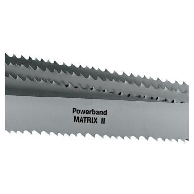 L.S. STARRETT Powerband Matrix II HSS Bi-Metal Portable Bandsaw Blade, 18 TPI