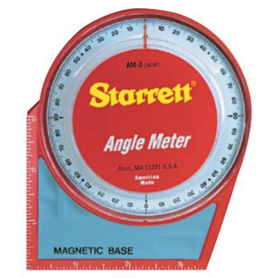 L.S. STARRETT Angle Meters, Magnetic, 0 to 90 degree