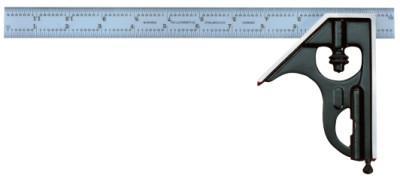 """L.S. STARRETT 33H Combo Squares, 12"""", 1/64"""" @ 1"""", Quick Read 64ths; Aircraft Quick Read 100th"""