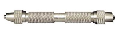 "L.S. STARRETT 165 DOUBLE END PIN VISE-0-.125"" RANGE"