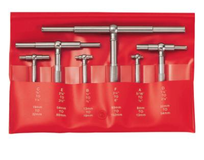 L.S. STARRETT 579 Series Self-Centering Telescoping Gage Sets, 5/16 in to 6 in