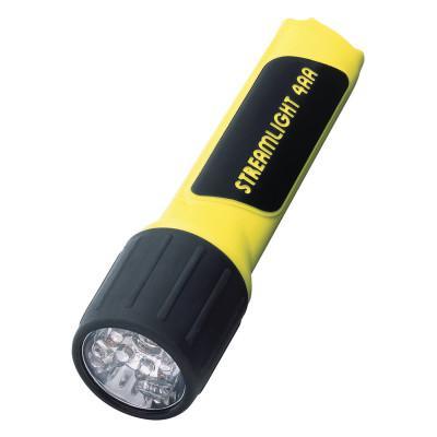 STREAMLIGHT ProPolymer Flashlights, 4 AA, 67 lumens, 7 LED, Box