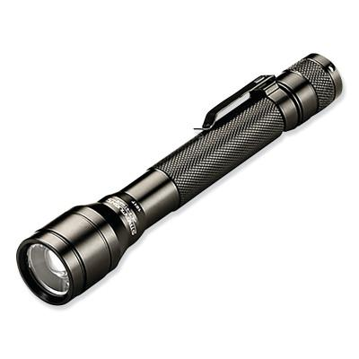 STREAMLIGHT Streamlight Jr. LED Flashlights,2 AA batteries,250/220 lumens,black.