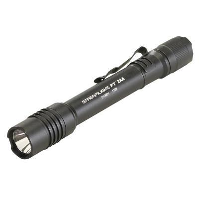 STREAMLIGHT ProTac® 2AA Flashlight, 2-AA Alkaline Batteries, Max 4,250 Lumens, Black