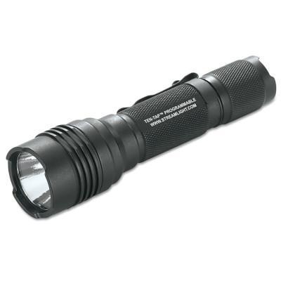 STREAMLIGHT ProTac HL Flashlight, 2-3 V CR123A Lithium Batteries, Max 750 Lumens, Black