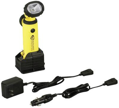 STREAMLIGHT Knucklehead LED Work Lights, 200 lumens, Yellow, AC/DC Charger