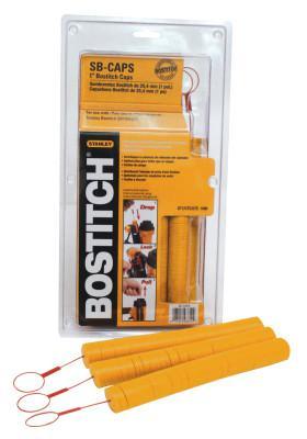 BOSTITCH BOSTITCH CAPS-1IN PLASTIC- 1000/BOX