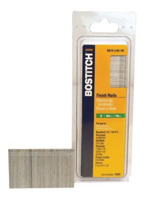 BOSTITCH 16GA.-2IN-FINISH NAIL- 2500/BOX