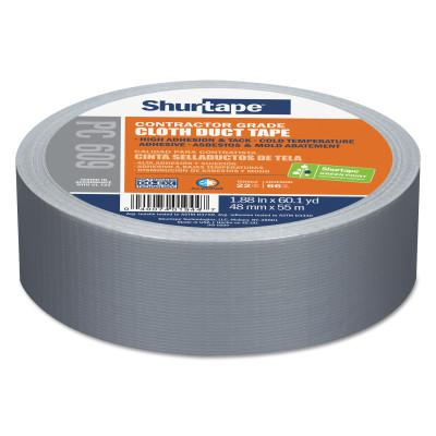 SHURTAPE PC 609 Performance Grade Duct Tapes, 48 mm x 55 M x 10 mil, Red