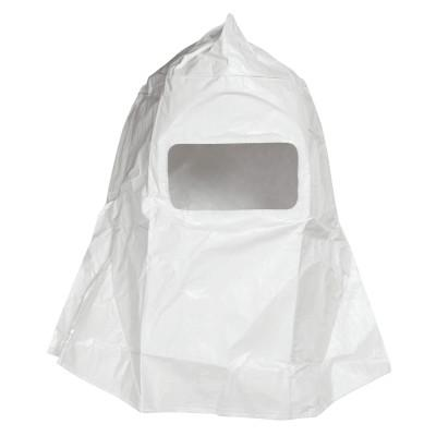HONEYWELL NORTH Sperian Free Air Paint Spray Hood with Visor, Cotton Twill, White