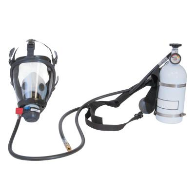 HONEYWELL PANTHER Pressure Demand Supplied Air Respirator w/Harness, 10 Minute Hip-Pac, Facepiece