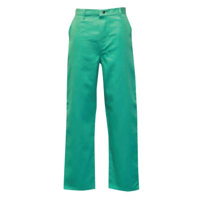 STANCO Classic Style Work Pants, 34 X 34, Green