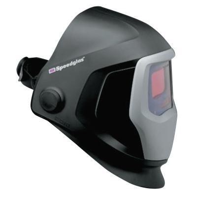 3M Speedglas 9100 Series Helmet with Auto-Darkening Filter, 2.8 in x 4.2 in, Black