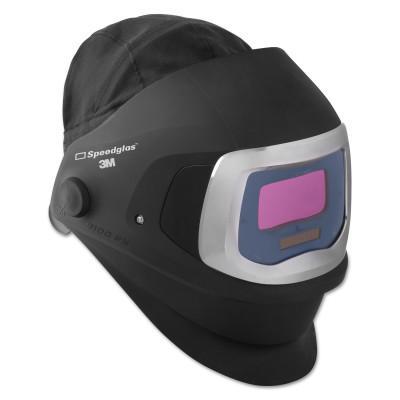 3M OH&ESD Speedglas 9100 FX Welding Helmets, Black, 8 x 4 1/4