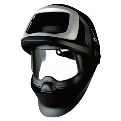 3M OH&ESD Speedglas 9100 FX-Air Welding Helmet, Black/Silver