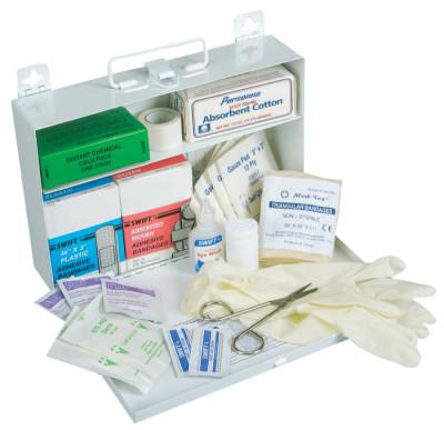 HONEYWELL NORTH 25 Person First Aid Kits, Metal