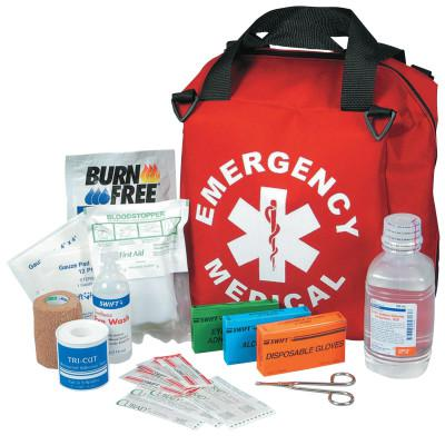 NORTH SAFETY First Responder Emergency Medical Kits, Nylon, 12.78 in x 17.75 in
