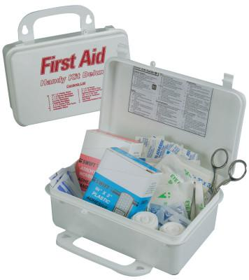 HONEYWELL NORTH Handy Deluxe First Aid Kit, Treats First aid, Cuts, bruises, eye care and burns, Plastic